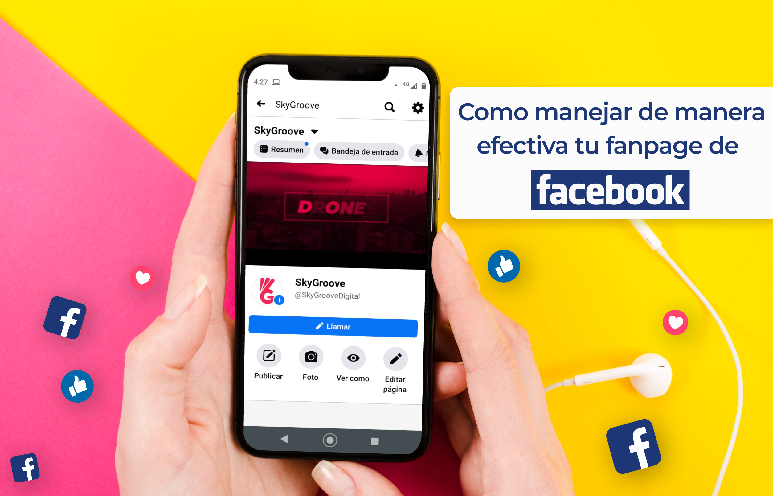 Optimización de fanpage en facebook